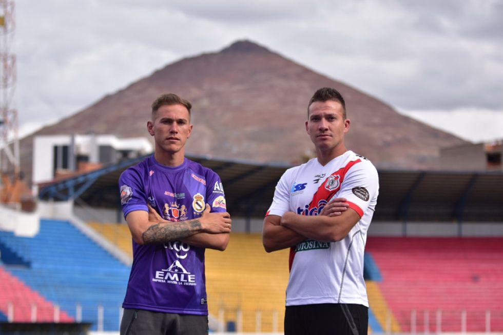 Maximiliano Gómez y Abraham Cabrera estarán hoy en bandos diferentes.
