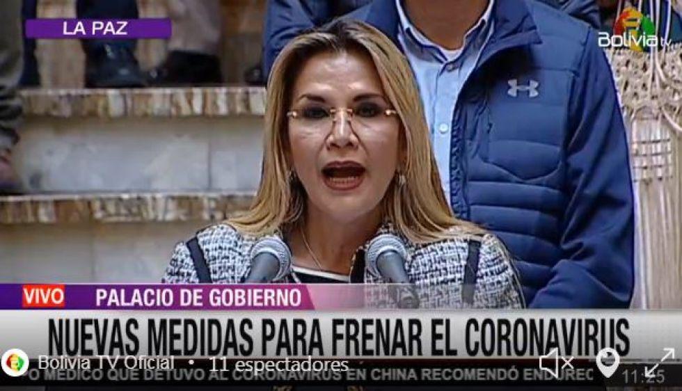 El Gobierno declara a Bolivia en cuarentena total por el coronavirus