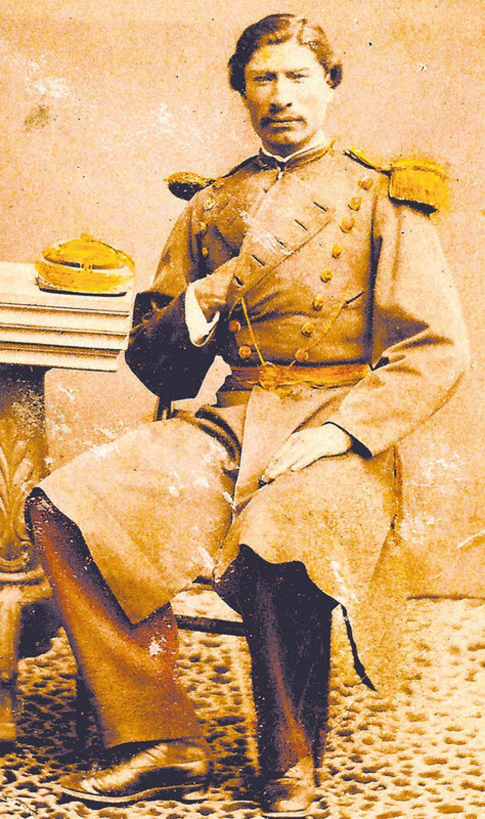 Retrato del coronel Rufino Carrasco.
