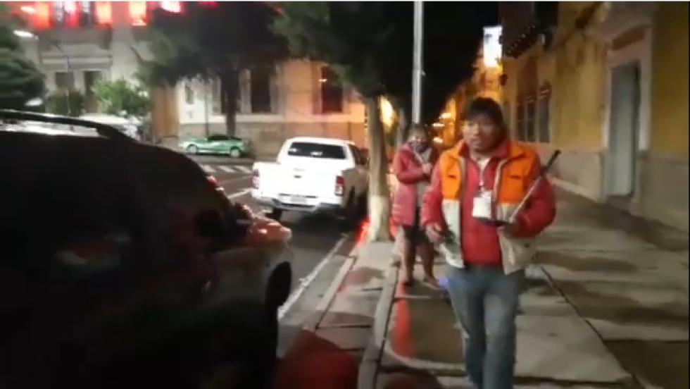 Cortaron video de El Potosí para causar pánico