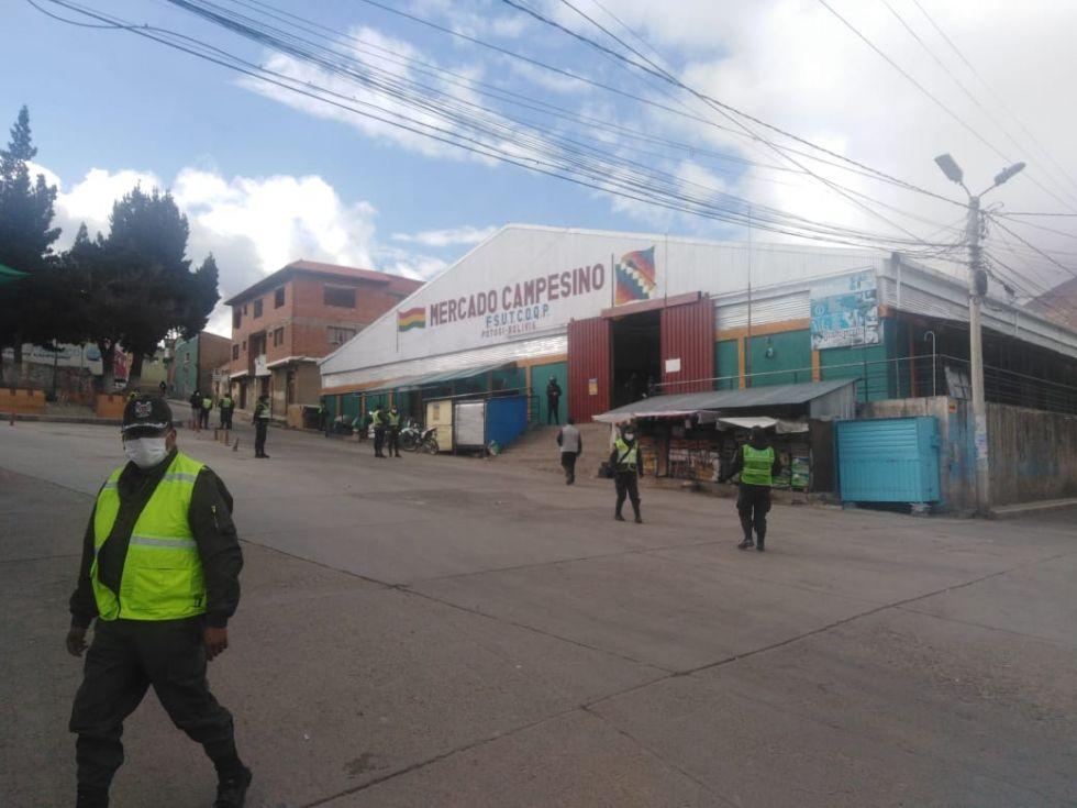 Panorama de las calles potosinas el jueves 26 de marzo.