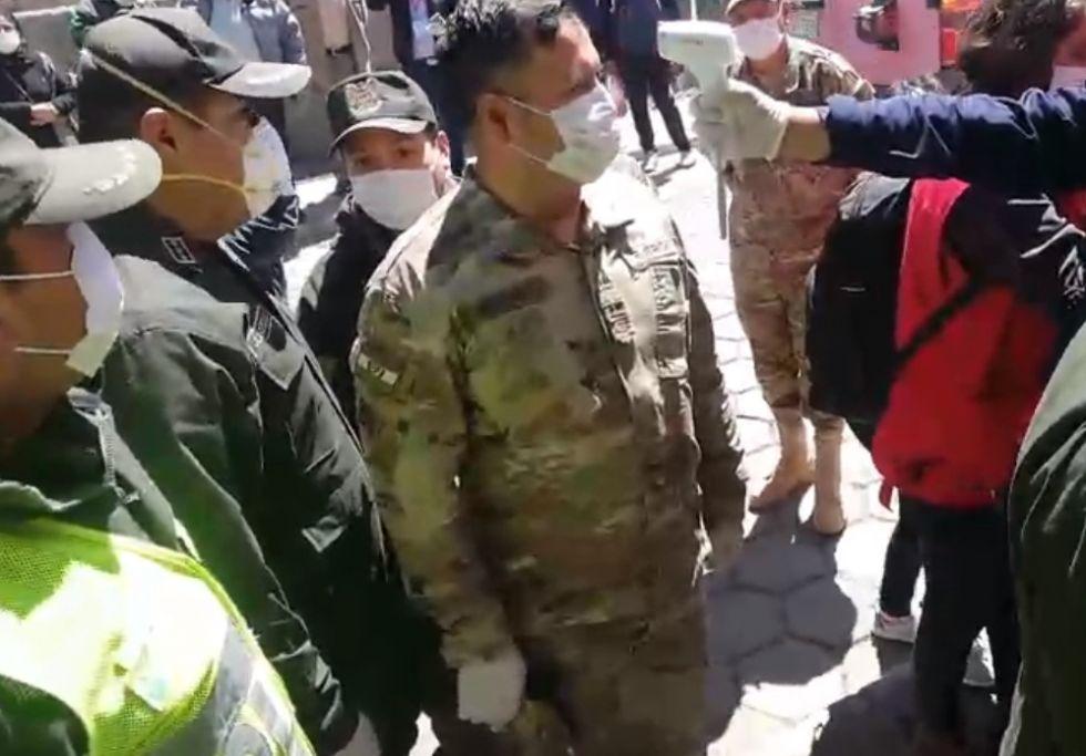 La presidenta Jeanine Añez está en Potosí