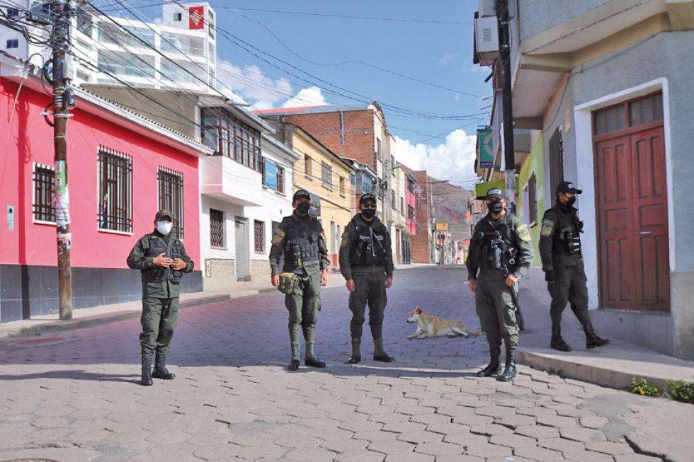 Hasta el 28 de marzo, Potosí tenía tres casos confirmados