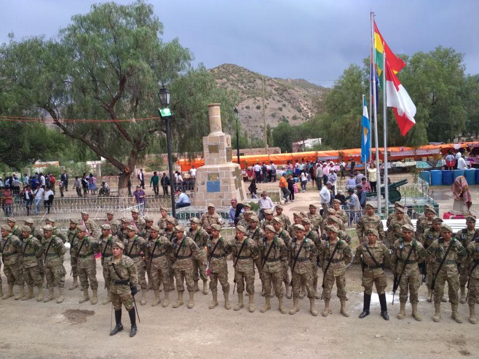 Homenaje del Ejército de Bolivia a la Batalla de Tumusla.