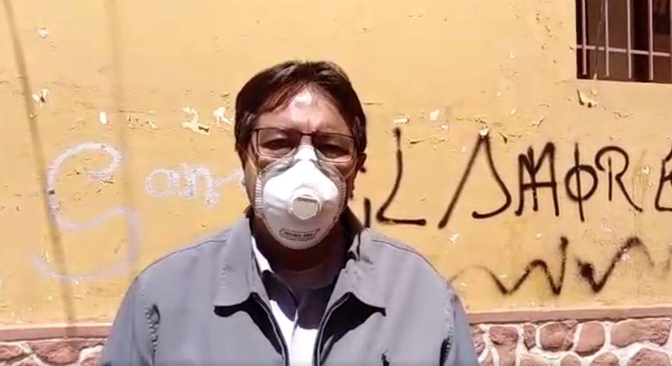Diputado anuncia que aportará sueldo a los afectados por el coronavirus
