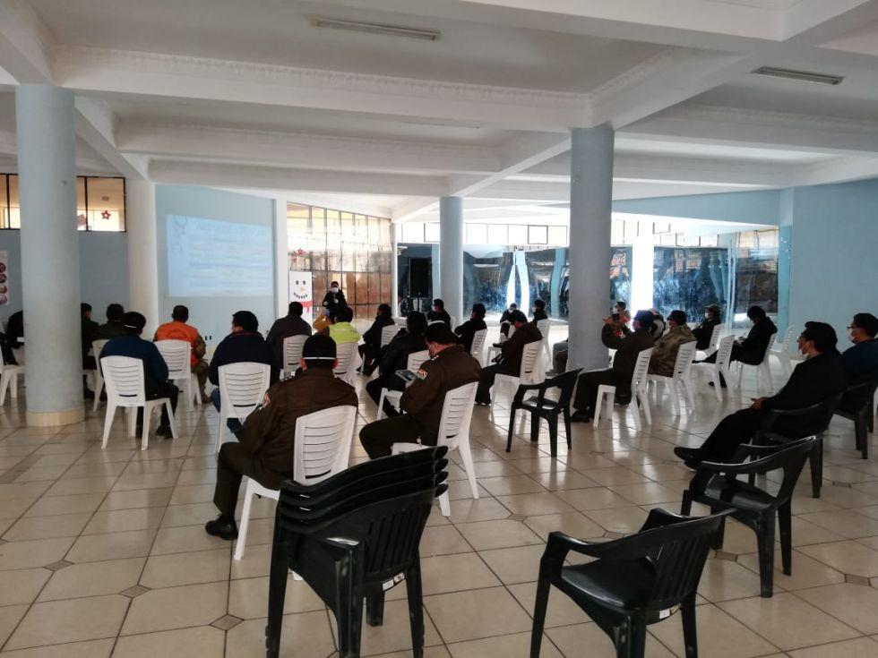 Definen nuevas estrategias para combatir el coronavirus en Potosí