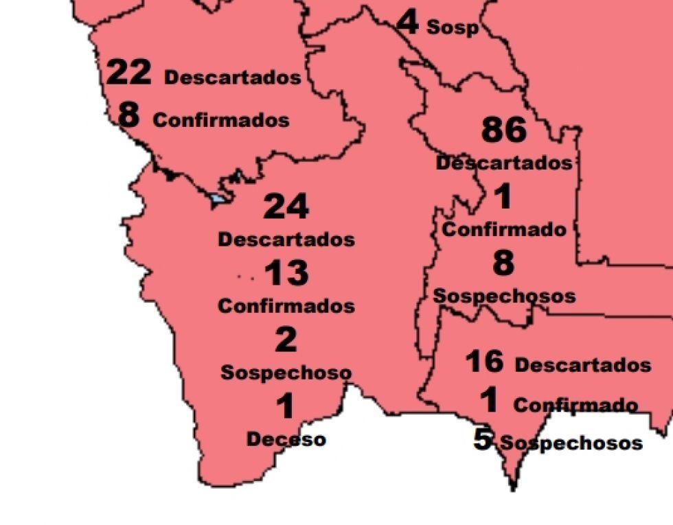 La situación de Potosí.