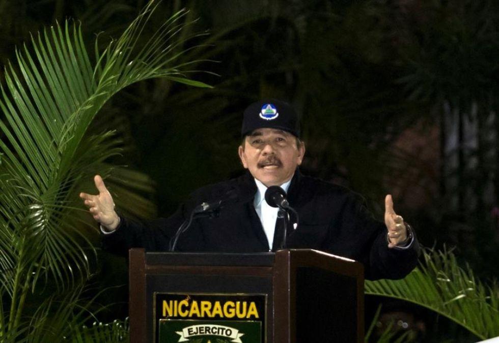 El presidente de Nicaragua en foto de archivo.