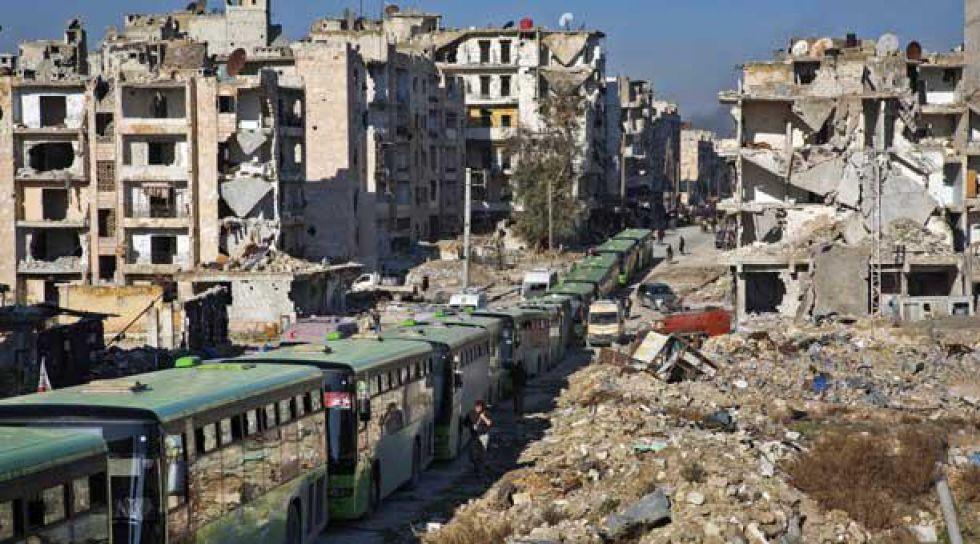 La Guerra en Siria ha dejado miles de muertos.
