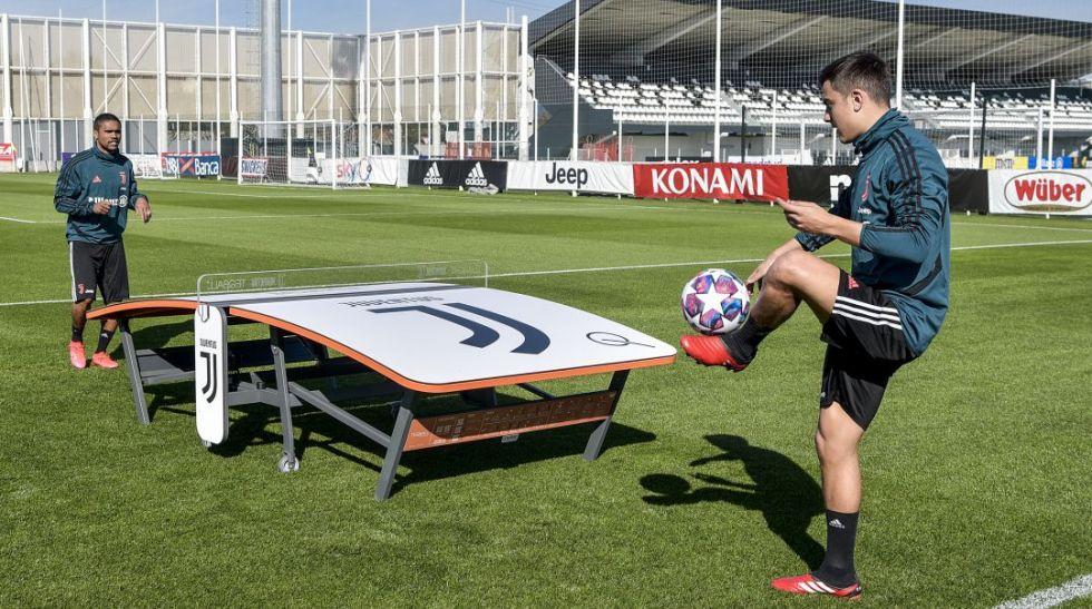 Dybala volvió a los entrenamientos tras superar la COVID-19