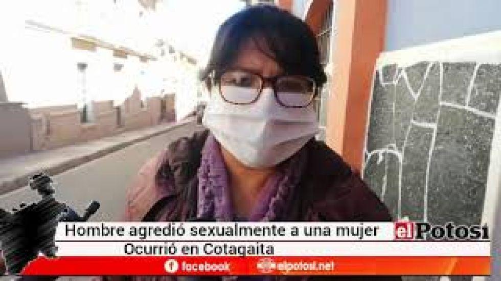 Hombre viola a una mujer en el campo en Potosí