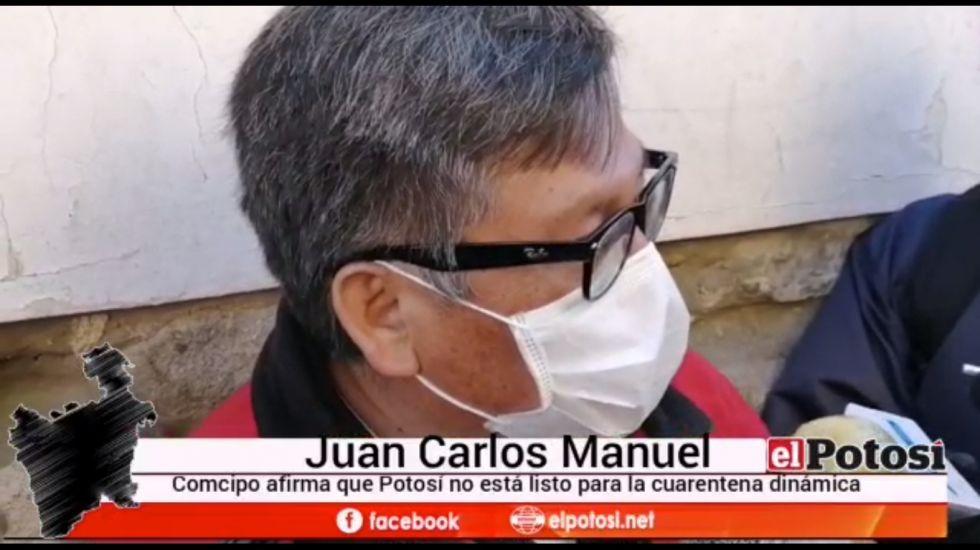 Comcipo afirma que Potosí no está lista para la cuarentena dinámica