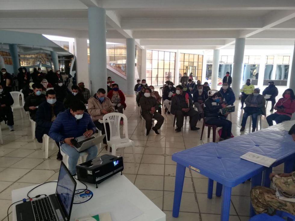 Así comienza la reunión del COEM. FOTO GAMP