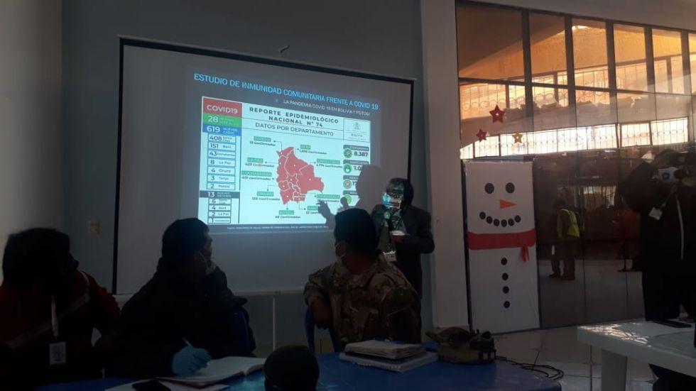 COEM determina ampliar la cuarentena en el municipio de Potosí hasta el 15 de junio