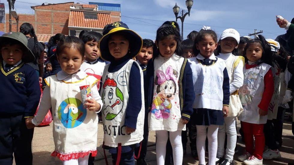 En 2019 realizaron actividades con estudiantes de escuelas potosinas. FORO EMAP