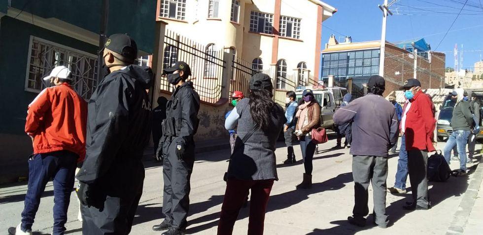 Fueron arrestados el pasado jueves en Potosí. FOTO GACIP