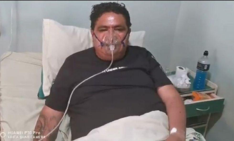 """Amilcar Barral: """"No es chiste esta enfermedad; he llorado muchas veces por no poder dormir"""""""