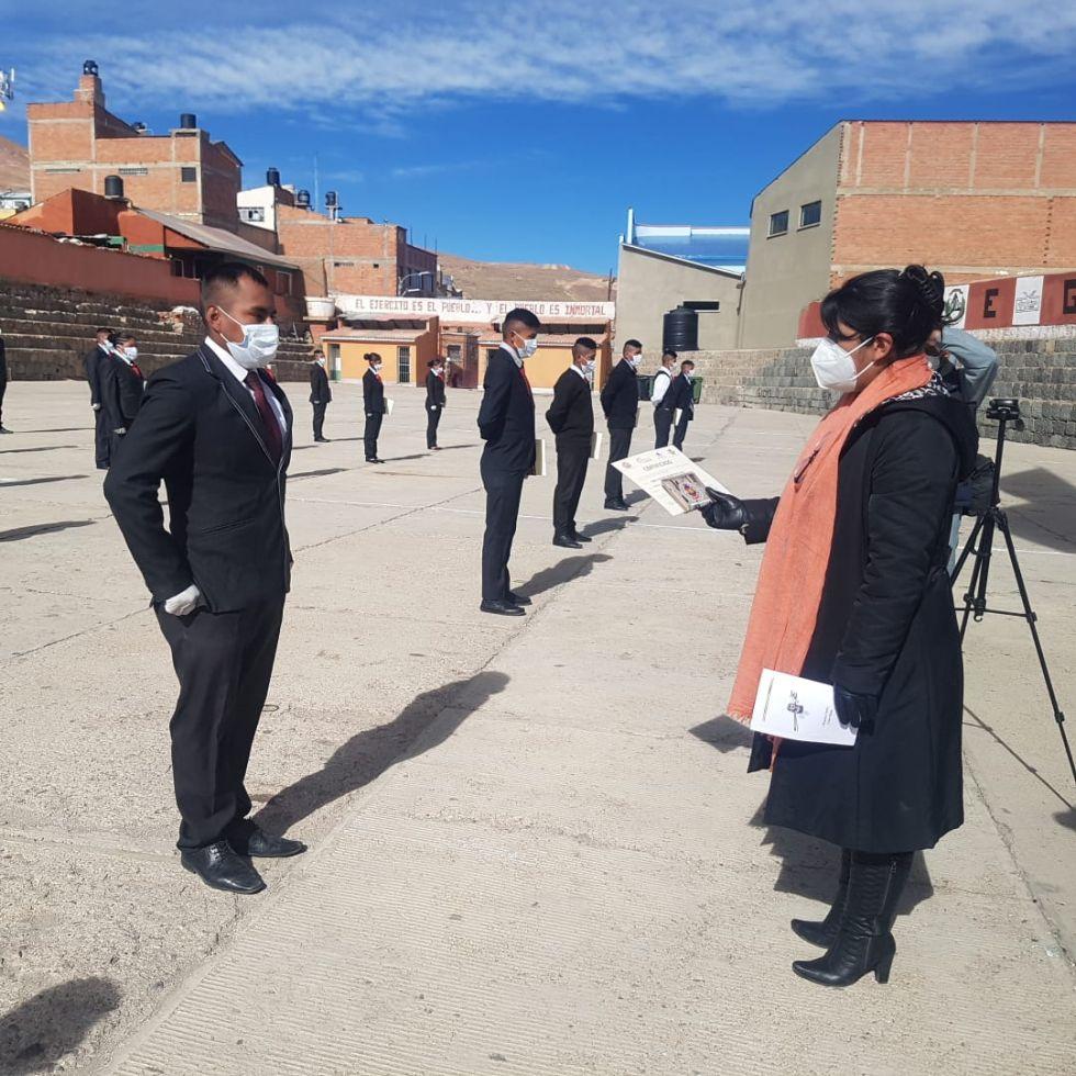 Las autoridades estuvieron presentes en el acto en el Campo Marte FOTO: HENRY ROCHA