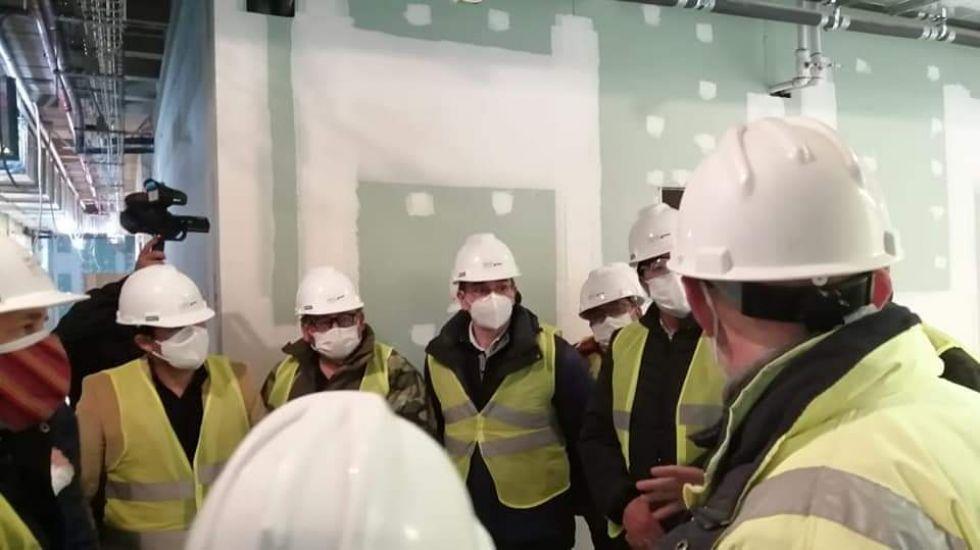 Inspeccionan hospital de tercer nivel en construcción y su avance en Potosí