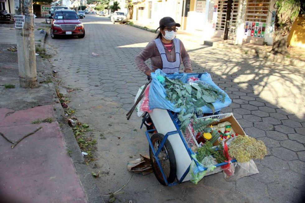 Un carro de eucalipto en vez del bufete, historias de resiliencia en Bolivia