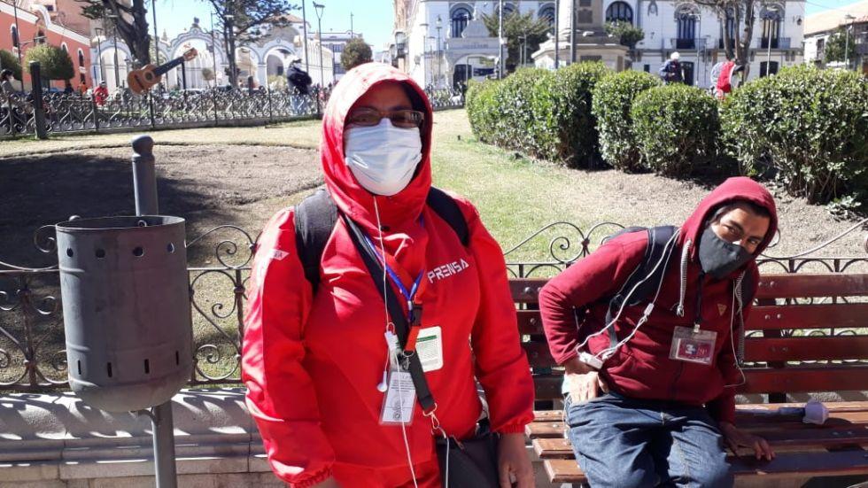 Hay cinco trabajadores de la prensa con COVID-19 en Potosí
