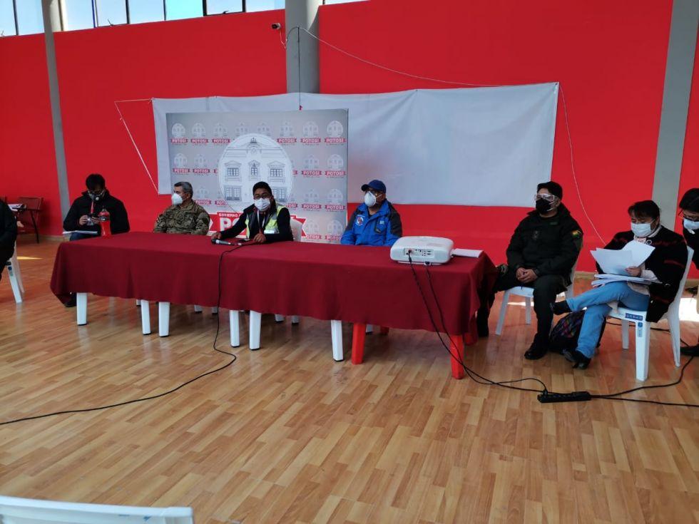 COEM determina continuar con la cuarentena dinámica en Potosí