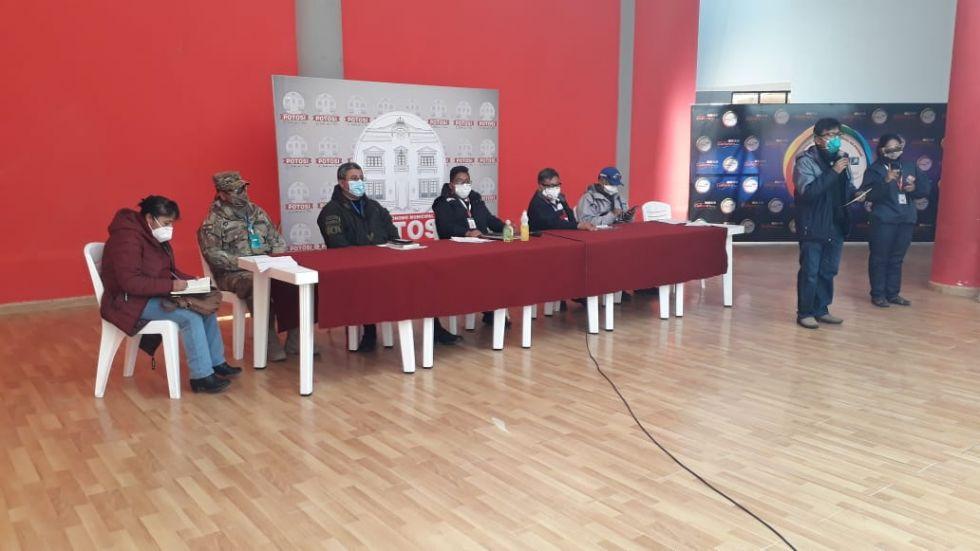 COEM en Potosí determina encapsular la ciudad del 7 al 14 de agosto