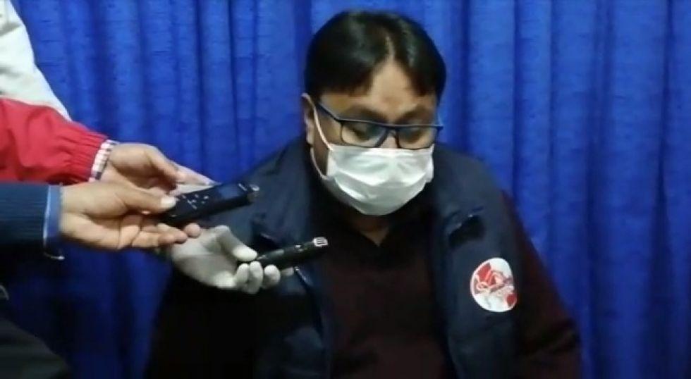 Dan alta clínica al jefe de epidemiologia del Sedes tras vencer al coronavirus
