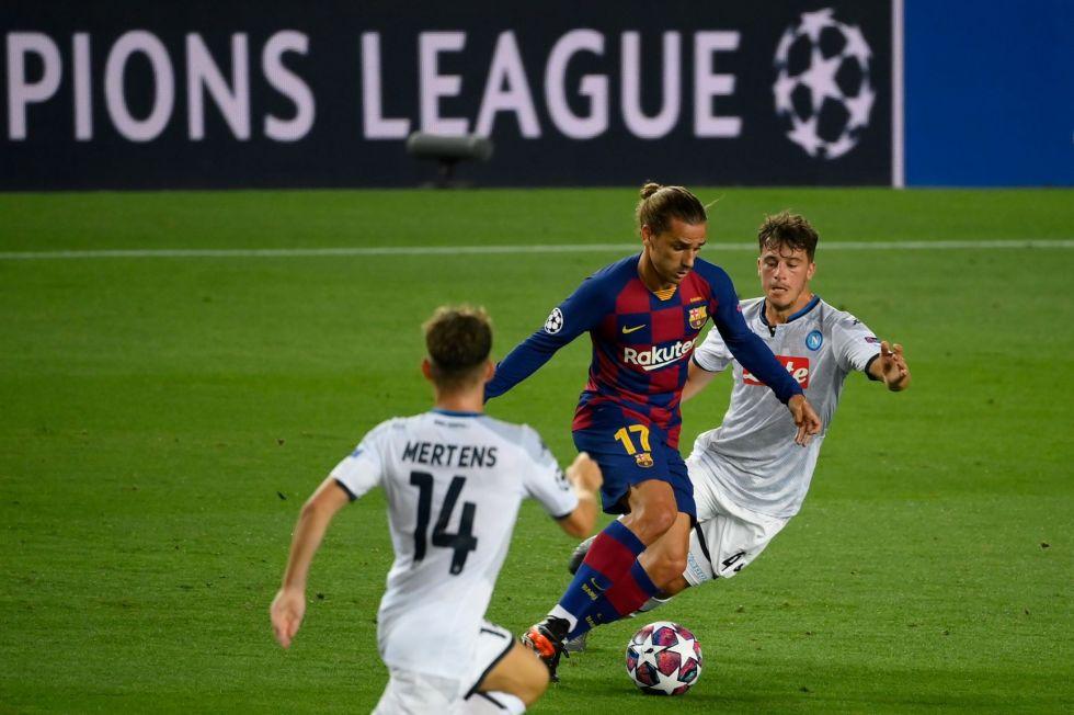 El partido se jugó en el Camp Nou.