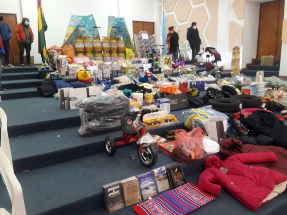La campaña en Uyuni.