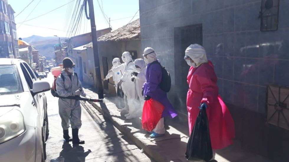 La actividad se realizó con un equipo municipal