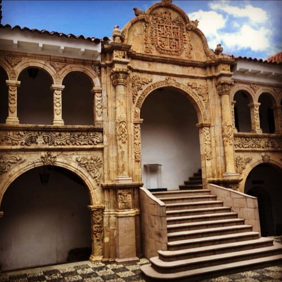 Desde 1962 el MUSEF funciona en el ex palacio de los Marqueses de Villaverde  FOTO FCBCB