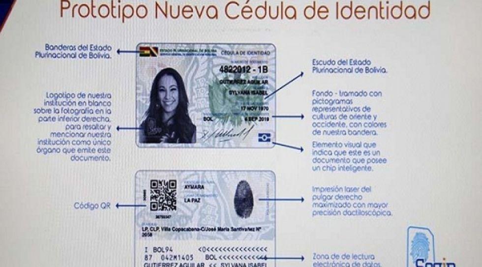 El nuevo carnet de identidad tendrá vigencia de 10 años