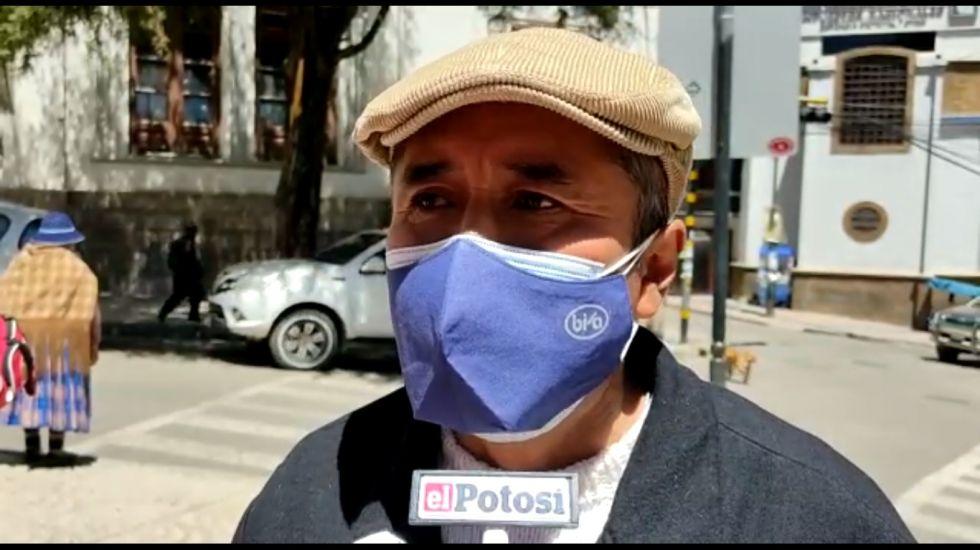 """Los transportistas confirman bloqueo """"de las mil calles"""" en Potosí"""