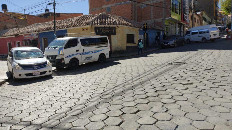 El bloqueo es en una de las avenida más transitadas.