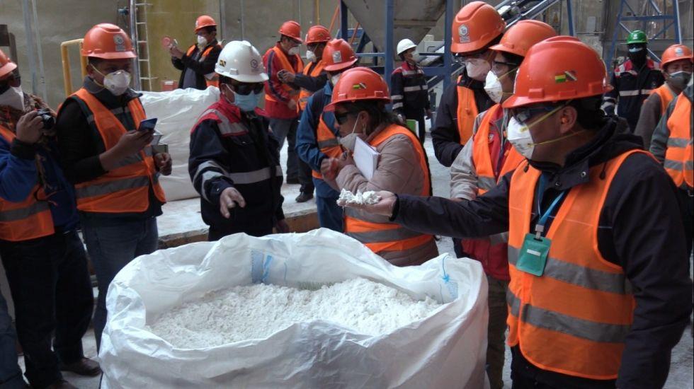 Concentración de salmueras para plantas industriales en Llipi no se ha detenido