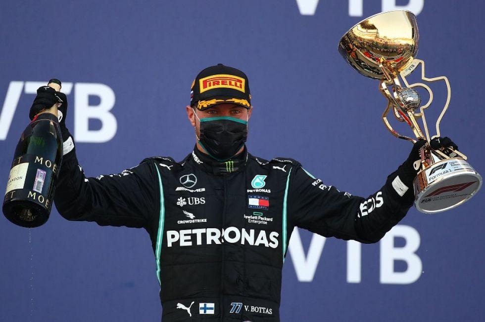 Bottas gana el Gran Premio de Rusia