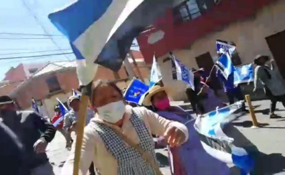 Chuquisaca: trabajadores de la prensa rechazan ataque a periodista por parte de activistas del MAS