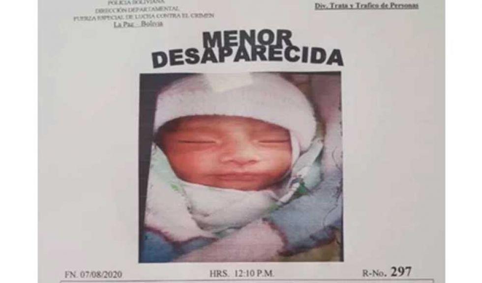 ¿Dónde está la bebé Samanta? el Gobierno cree que haya sido llevada a Perú