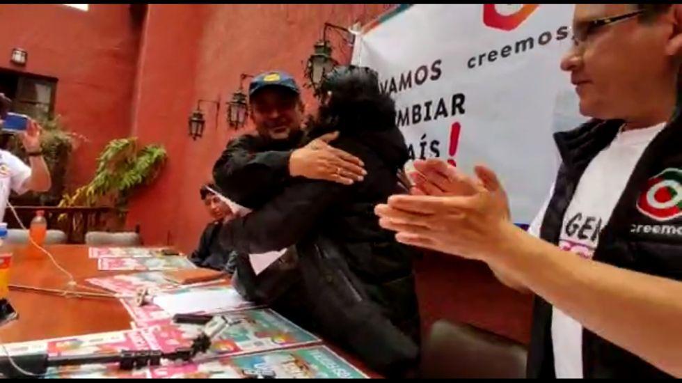Chóferes en Potosí pasan de apoyar al MAS a respaldar a Creemos