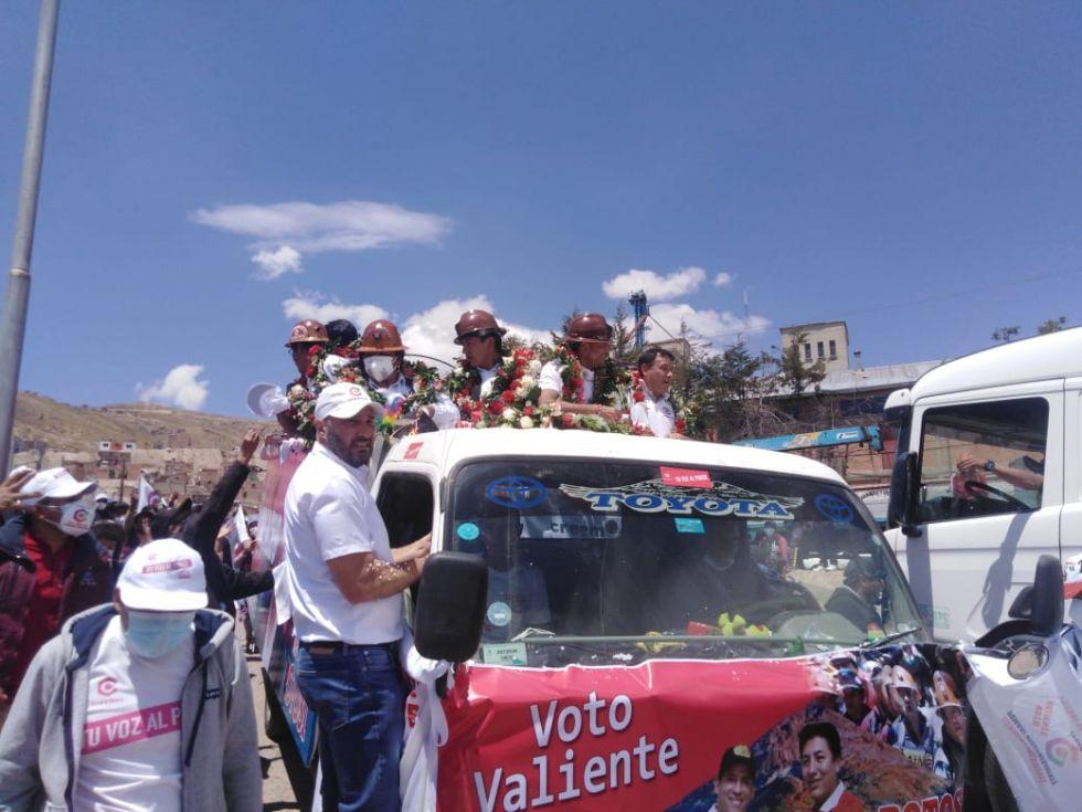 Camacho: Potosí debe ser socio del litio junto al Estado