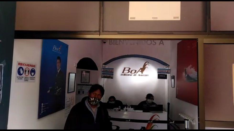 BoA está lista para reponer los vuelos de y hacia Potosí