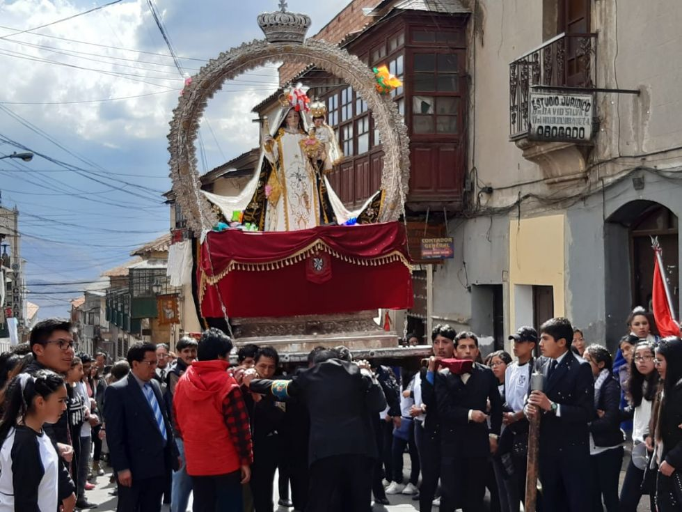 Imágenes de la procesión del año pasado.