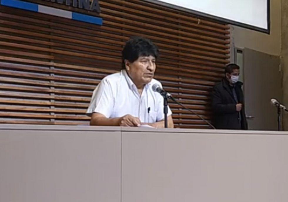 """Evo Morales afirma que """"es hora de sentar la mano"""" a Luis Almagro"""
