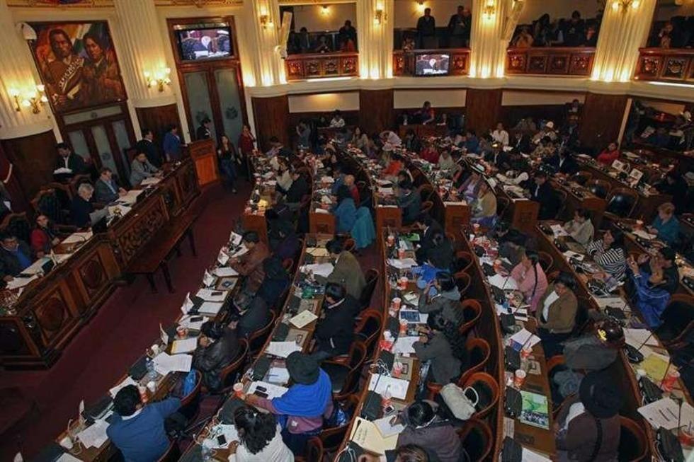 ¿Cómo queda la distribución de curules en la Asamblea Legislativa Plurinacional?