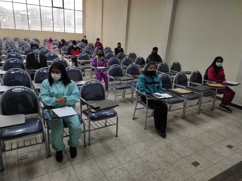 Ya está en marcha la aplicación del examen de ingreso en la UATF