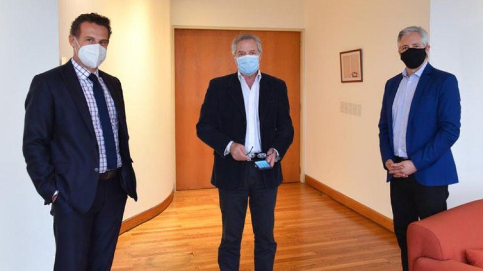 García Linera negocia el litio potosino con autoridades argentinas