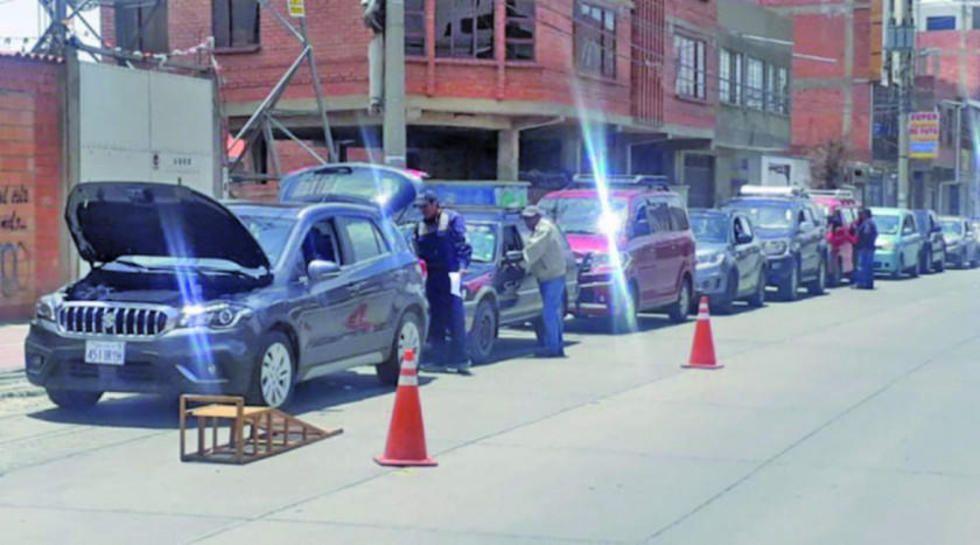 Inspección técnica vehicular habilita cinco puntos de revisión en Potosí