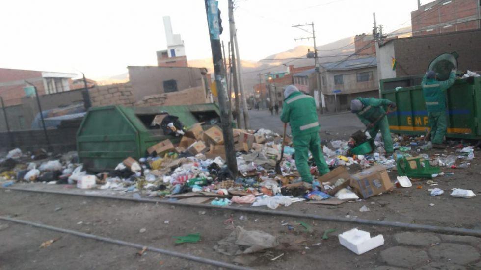 Piden contribuir con la limpieza de la ciudad.