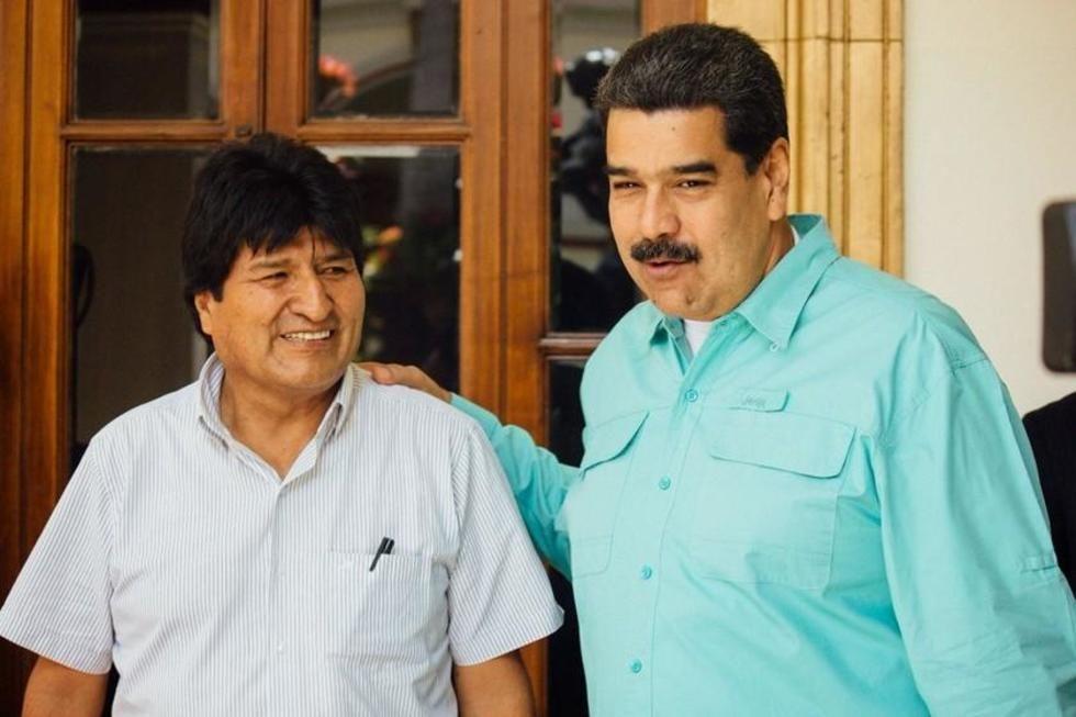 Evo Morales y Nicolás Maduro no están invitados al acto de posesión de Arce